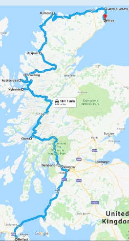 Highland route pt 1